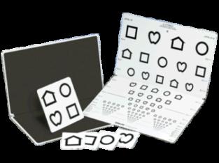 Διάγραμμα Οπτομετρίας Lea Symbols
