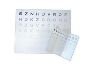Κάρτα Οπτομετρίας Ευαισθησίας Αντίθεσης – Κοντινής Όρασης