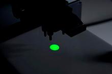 GREEN LED light